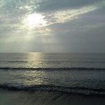 日本海を臨む